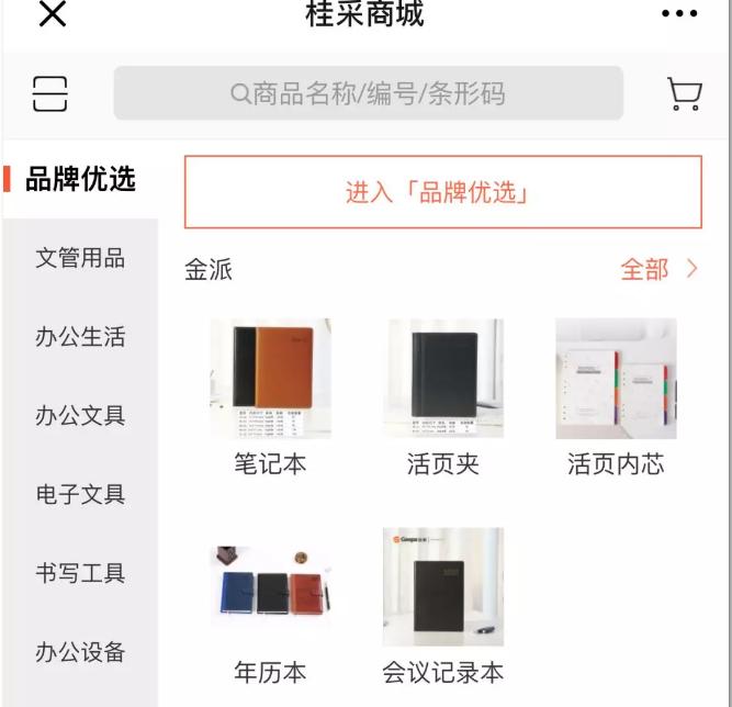 订货宝赋能搭建的平台页面截图.png